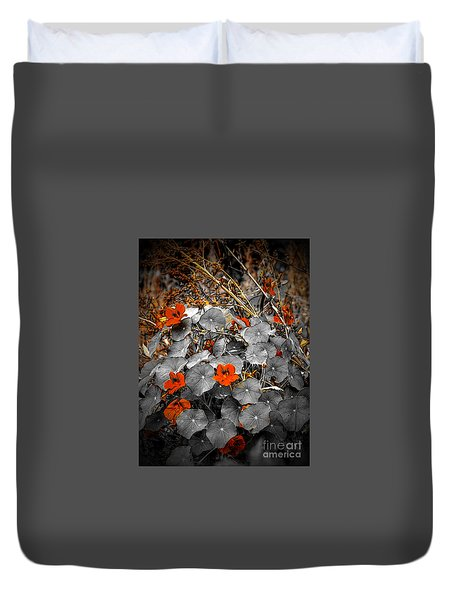 We Fade To Grey Natured Duvet Cover
