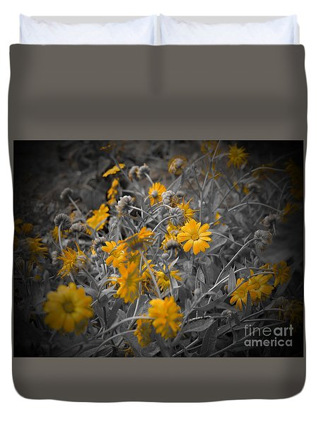 We Fade To Grey Three Duvet Cover