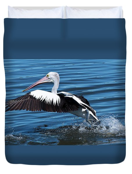 We Have Lift Off 01 Duvet Cover