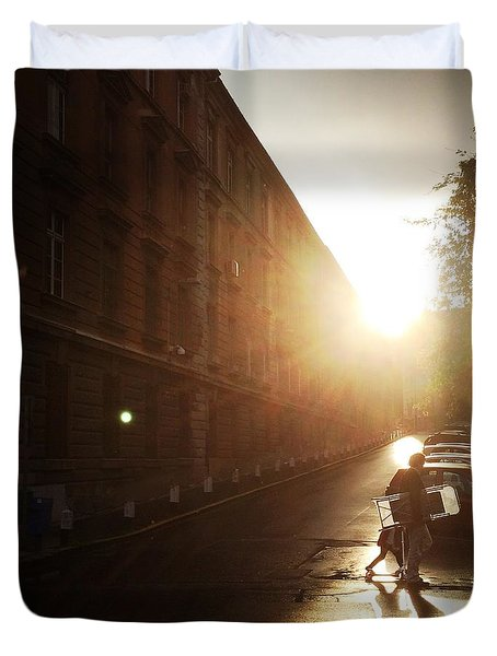 We Live In Budapest #11 Duvet Cover