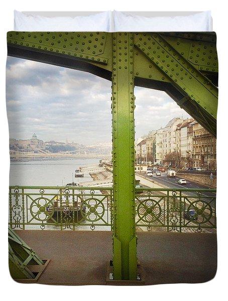 We Live In Budapest #4 Duvet Cover