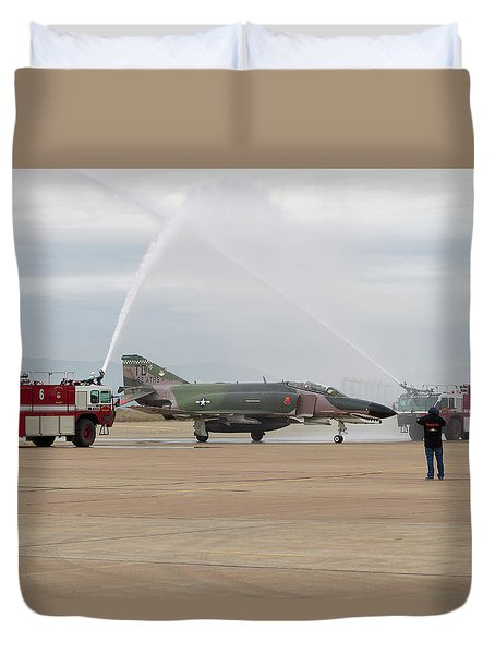 We Salute You Duvet Cover