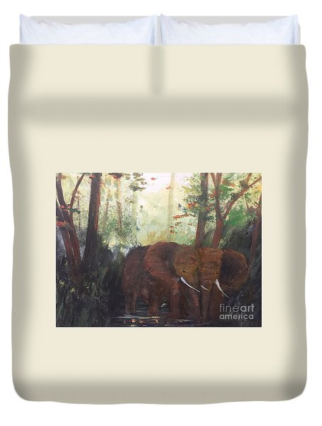 We Two Duvet Cover