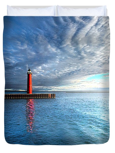 We Wait Duvet Cover by Phil Koch