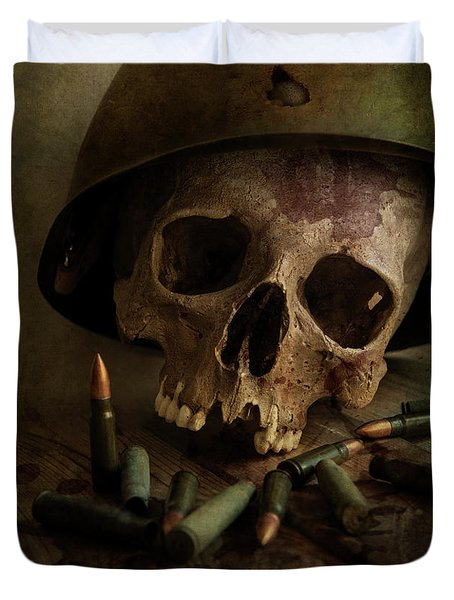 We Were Soldiers II Duvet Cover