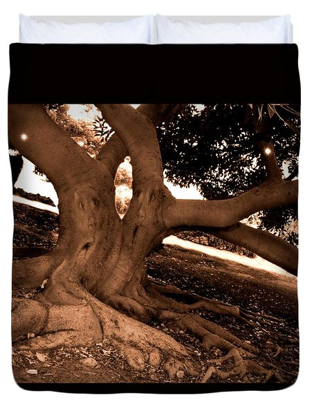 We Would -- Screaming Trees Duvet Cover