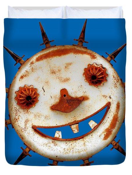 Wear Sunscreen Duvet Cover by Christine Till