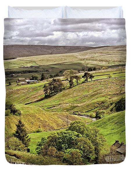Weardale Landscape Duvet Cover