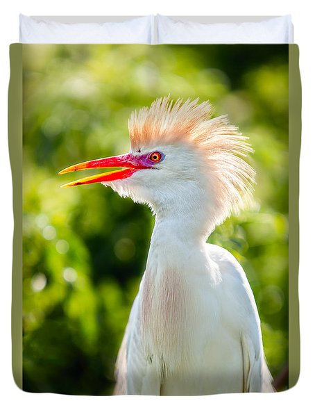 Wearing His Colors Duvet Cover by Christopher Holmes
