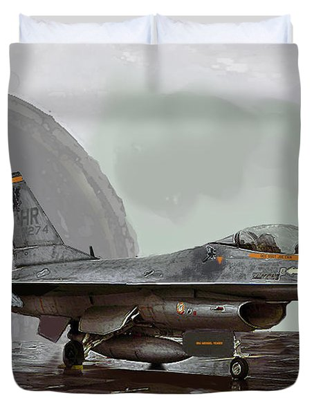Weather Day 1274 Duvet Cover