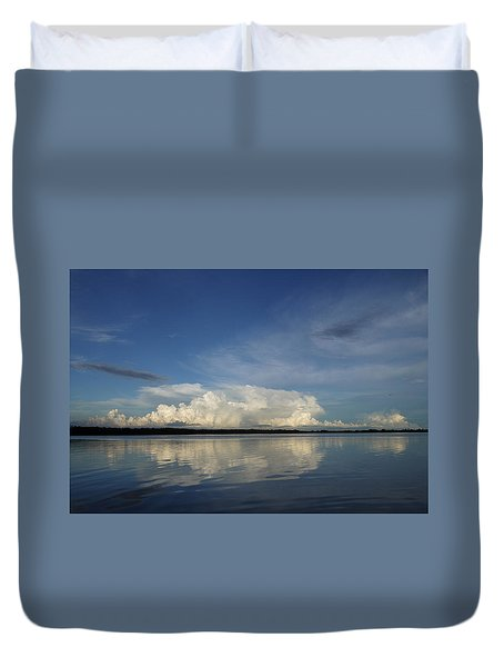 Weather From Tampa Bay 871 Duvet Cover