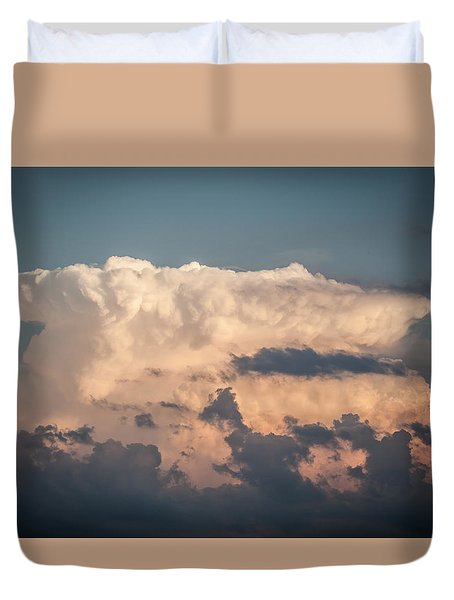 Weather Maker Duvet Cover by Ray Congrove