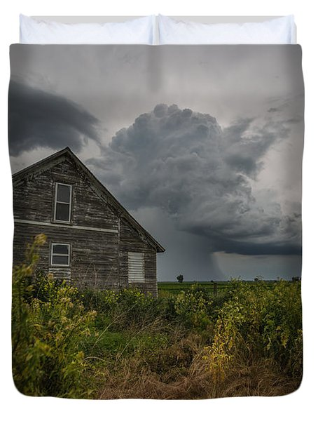 Weathered 4 Duvet Cover