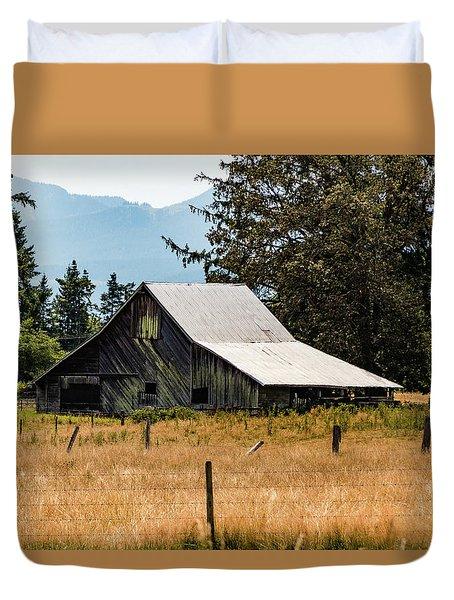 Weathered Barn Duvet Cover