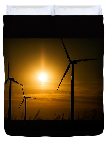 Weatherford Wind Power Duvet Cover