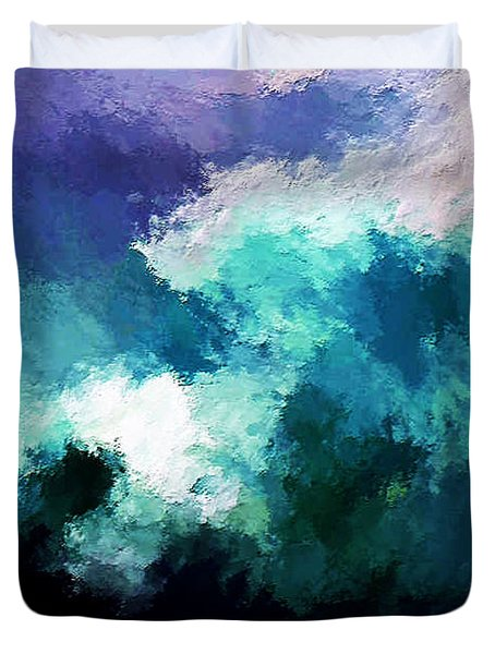 Weathering The Storm Duvet Cover