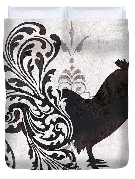 Weathervane II Duvet Cover by Mindy Sommers