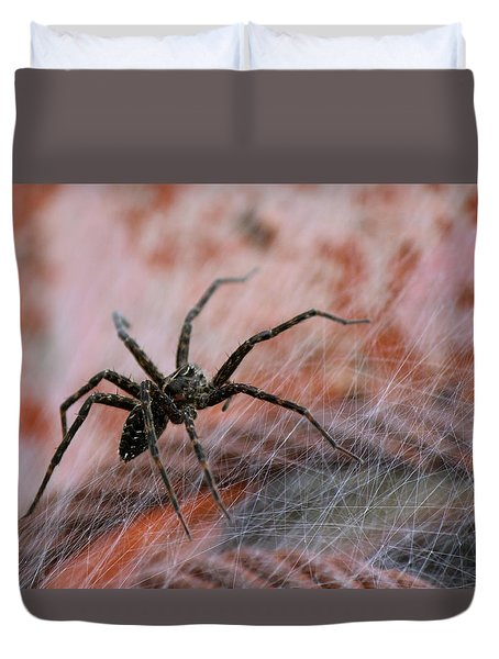 Web Duvet Cover