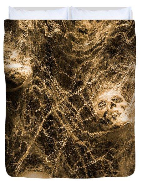 Web Of Entrapment Duvet Cover