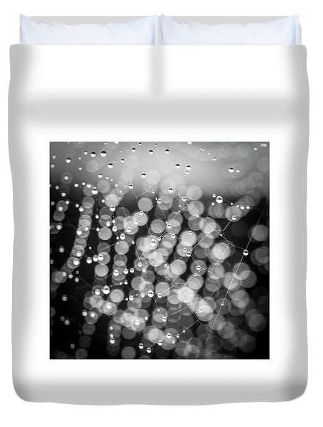 Web Of Water Duvet Cover