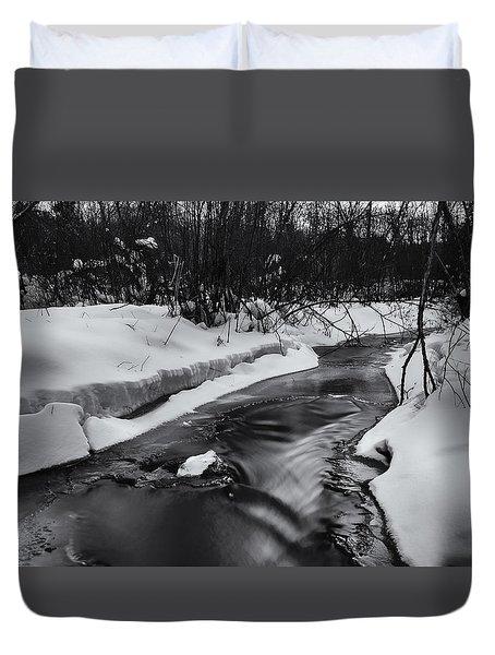 Weber Creek Duvet Cover by Dan Hefle