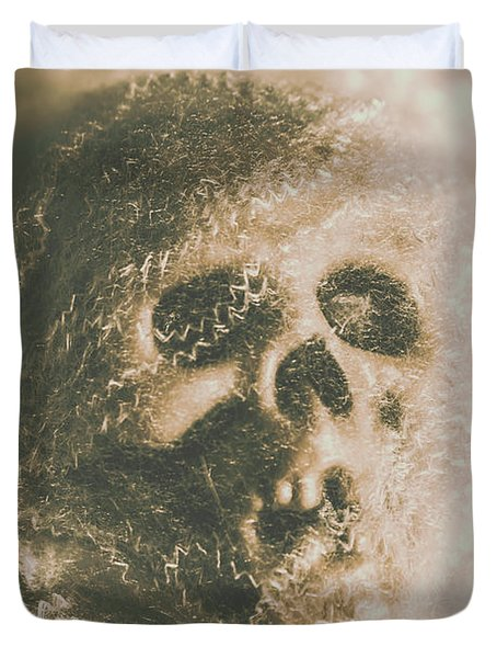 Webs And Dead Heads Duvet Cover
