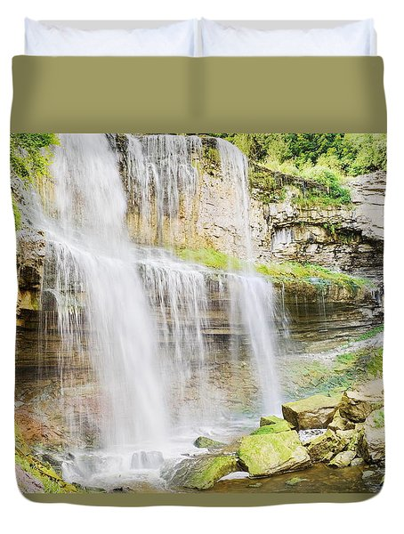 Webster Falls Duvet Cover