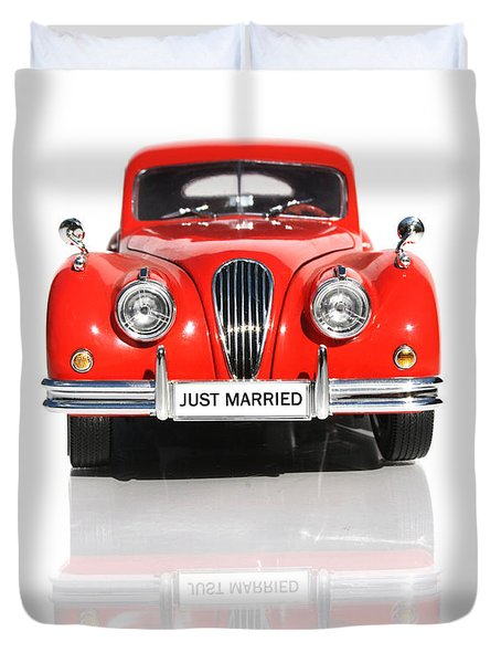 Wedding Car Duvet Cover by Jorgo Photography - Wall Art Gallery