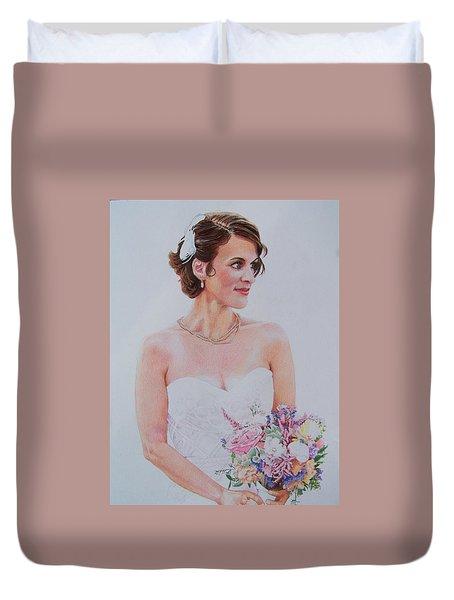 Wedding Day Duvet Cover