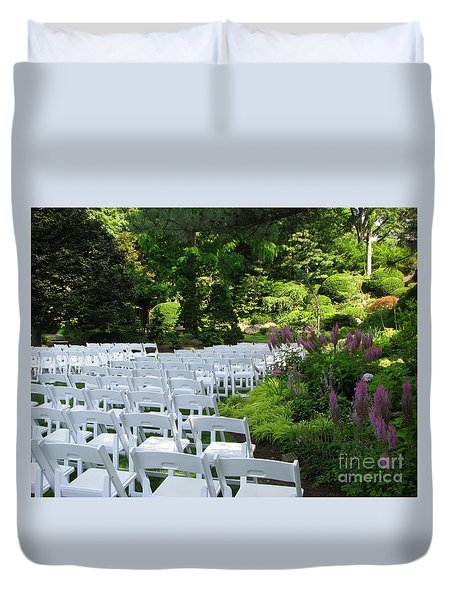 Wedding Day Duvet Cover