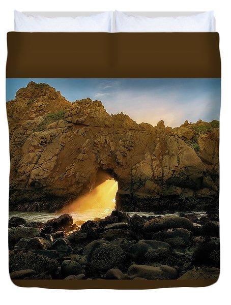 Wedge Of Light Duvet Cover
