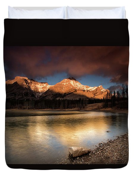 Wedge Pond Sunpeaks Duvet Cover