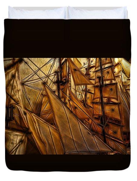 Wee Sails Duvet Cover