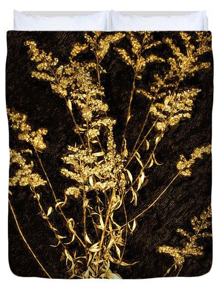 Weed Portrait Duvet Cover by Steve Harrington