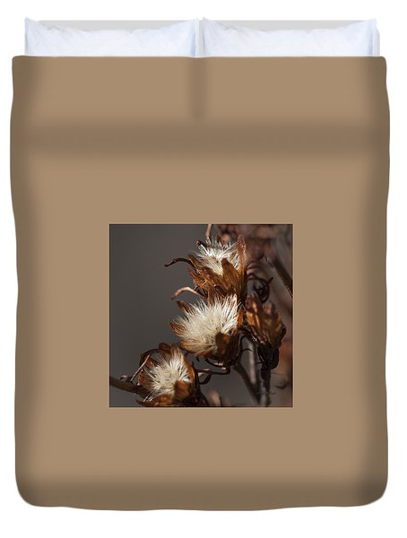 Weeds Of Winter Duvet Cover