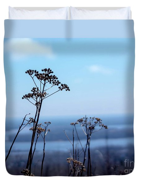 Weeds Duvet Cover