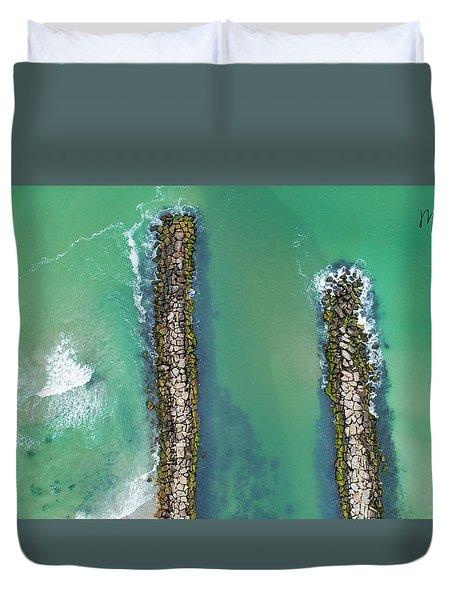 Weekapaug Breachway Duvet Cover