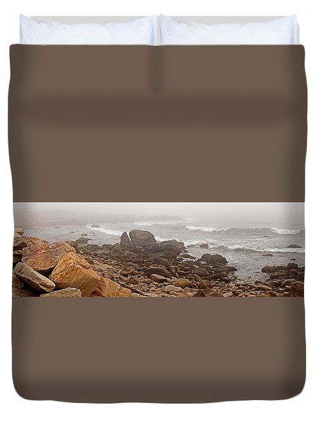 Weekapaug Panorama Duvet Cover