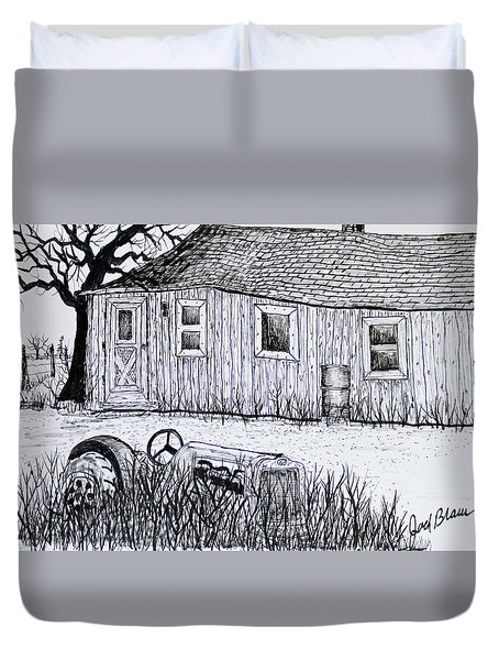 Weekend Camp Duvet Cover