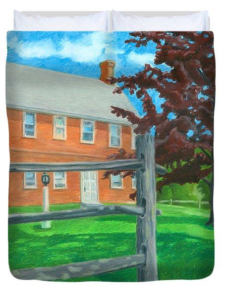 Weeks Brick House Duvet Cover