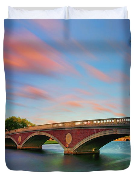 Weeks' Bridge Duvet Cover