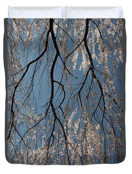 Weeping Cherry #2 Duvet Cover