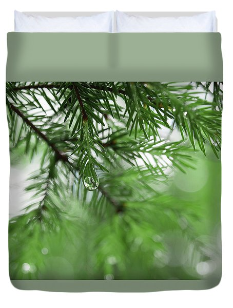 Weeping Pine 2 Duvet Cover