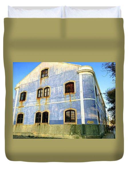 Weeping Windows Duvet Cover