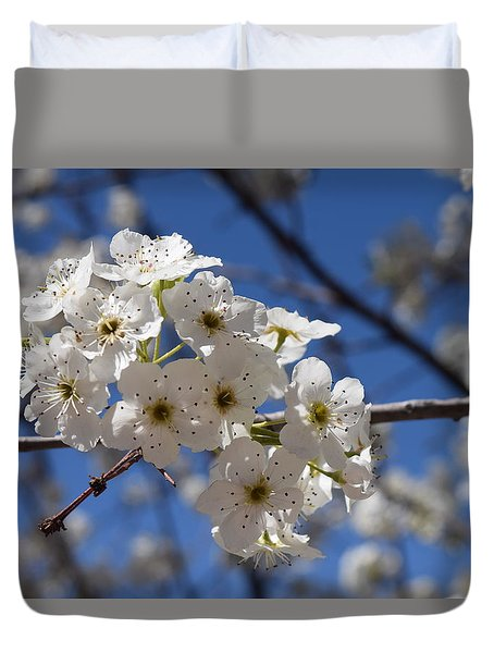 Welcome Colorado Spring Duvet Cover