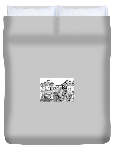 Welcome Home Duvet Cover by Bill Richards