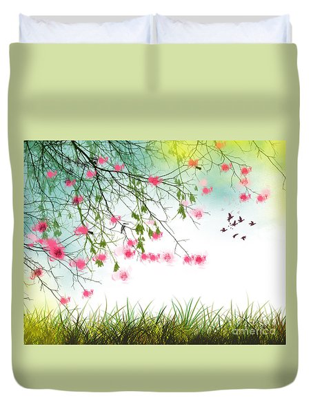 Welcome Spring 2016 Duvet Cover