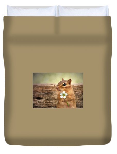 Welcome Spring Duvet Cover by Lori Deiter