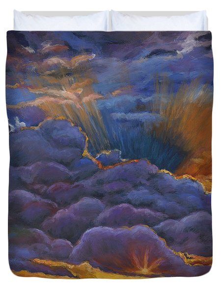 Welcome The Night Duvet Cover