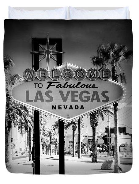 Welcome To Las Vegas Series Holga Infrared Duvet Cover